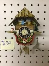 Genuine Black Forest Miniature Clocks #630 Cuckoo Clock Theme - $29.99