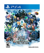 World Of Final Fantasy PS4 Game Video Game New Factory Sealed Rated E 10+ - $24.70