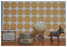 Greek Women Skin Whitening Soothes Day Cream Face,Neck Bio Donkey Milk 50ml - $16.49