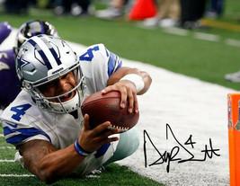 Dak Prescott Signed Photo 8X10 Rp Autographed Dallas Cowboys - $19.99