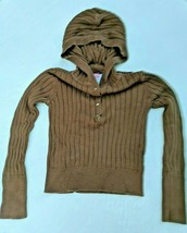 Children Brown Hooded Sweater Gap Small 6-7 - $5.94