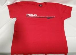 Red Vintage Polo Ralph Lauren T Shirt  Authentic Quality Sports Wear siz... - $24.74