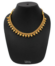 Womens Trendz Full Spiral Thushi 24K Gold Plated Alloy Necklace  - $40.00
