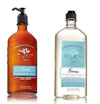 Bath & Body Works - Aromatherapy - Body Wash & Lotion Set - Focus - Euca... - $29.19