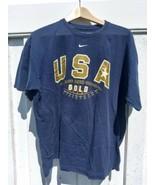 2008 Olympic Basketball Men's Team USA Gold Medal T-shirt Adult L NIKE Kobe - $19.55