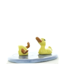 Hagen Renaker Bird Duck Baby Pond Ceramic Figurine Set