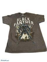Marvel Black Panther Charcoal Gray Grapic Tee T-Shirt Men's Medium Short... - $12.30