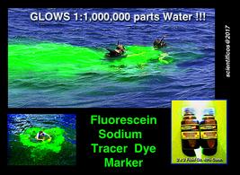 FLUORESCEIN UV Ultraviolet Water Leak Dye Tracer - 4 X 2oz../40% Concent... - $25.00