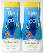 2 Bottles Disney Pixar Finding Dory 24 Oz Light Fresh Scent Gentle Bubbl... - $19.99