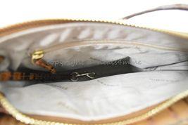 NWT Brahmin Manhattan Leather Shoulder/Crossbody Bag in Toasted Almond Melbourne image 4