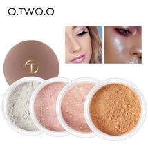 O.TWO.O Highlighter Makeup Contour Palette Make Up Eye Loose Powder Glit... - $6.94