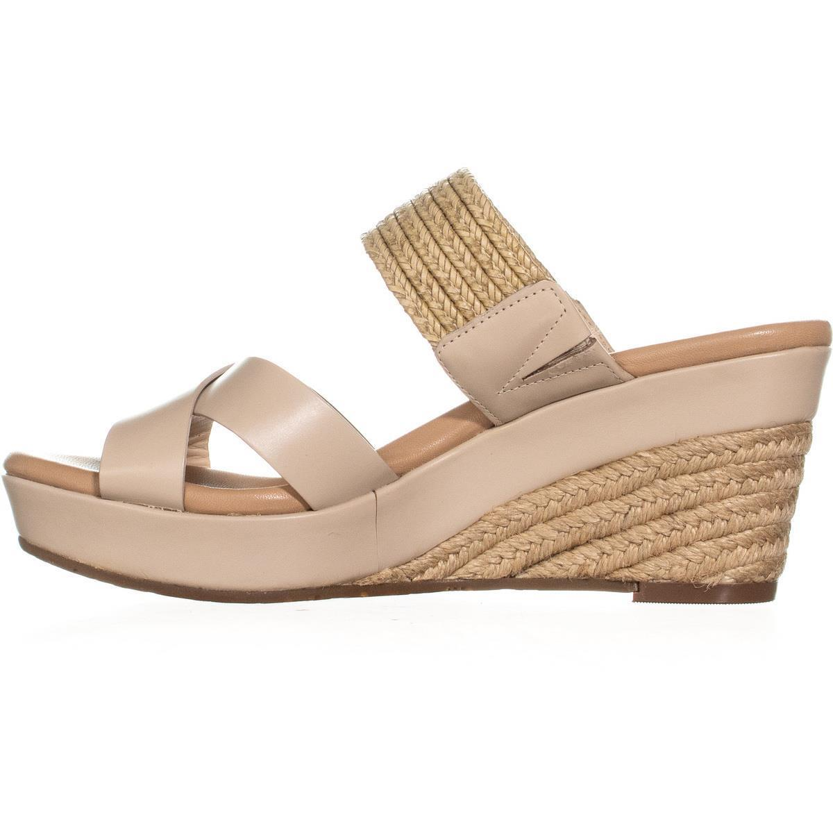 UGG Australia Adriana Wedge Mule Sandals, Horchata, 9 US / 40 EU