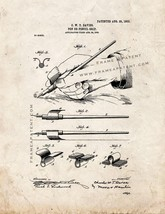 Pen or Pencil Grip Patent Print - Old Look - $7.95+