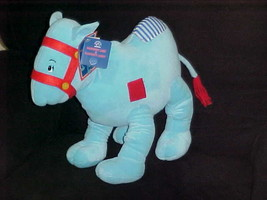"""16"""" Raggedy Ann & Andy Blue Camel Wrinkled Knees Plush Toy With Tags By Applause - $140.24"""