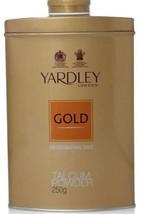 Yardley London GOLD Perfumed Talcum Body Powder  8.81849 oz (250 gm) - $19.39