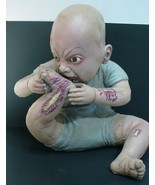 Spirit Halloween Latex Prop Zombie Baby SNACK TIME  2011 - $94.05