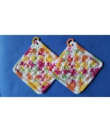 Over the Rainbow - 2 Bumpy Cotton Handmade Croc... - $10.00