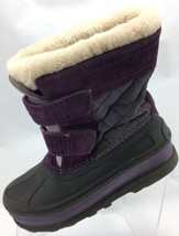 SH16 UGG Australia Ramsey Girls Sz 3 Purple Boots Waterproof Snow Winter - $35.63
