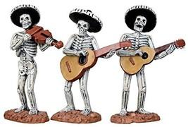 Lemax Spooky Town Skeleton Mariachi Band, Set of 3 #12884 - $231,70 MXN