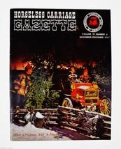 Horseless Carriage Gazette Magazine 1957 Nov - Dec Antique Automobiles, ... - $10.00