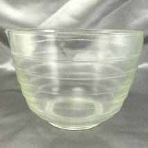 Pyrex Westinghouse Beehive Bowl 1.5qt Vintage Clear Glass Mixer w/ Pour Spout image 3