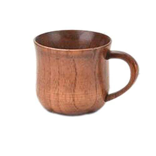 Primary image for PANDA SUPERSTORE Solid Wood Fashion Drinkware-Cups Mugs Tea Beer Mug Wooden Cups