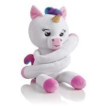 Fingerlings HUGS Gigi (White) Advanced Interactive Plush Baby Unicorn Pe... - $60.78