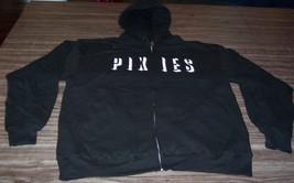 Pixies Zipperdown Hoodie Hooded Sweatshirt Large New - $49.50