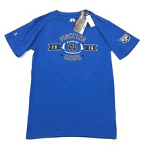 NEW The Shirt Notre Dame Tee Medium Sz M Blue Short Sleeve Irish Footbal... - €14,02 EUR