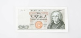 1964 Italia 5000 Lira (Au ) About que No Ha Circulado Estado Banca de It... - $173.03