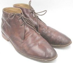 Cole Haan Grand OS Men Chukka Ankle Boots Size US 13M Brown Leather - $36.25