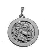 Sterling Silver King Koopa Bowser charm Solid Coin Jewelry Super Mario o... - $64.34