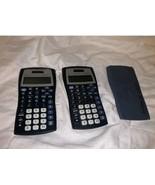 Texas Instruments Ti-30x IIS Scientific Solar Calculator lot of 2 - $18.21