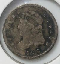 1836 Silver Bust Half Dime 5¢ Coin Lot# E 28