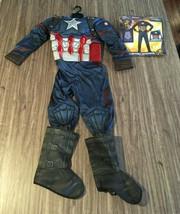 Marvel Captain America Avengers Infinity War Children's Costume Medium 8-10 New - $19.80