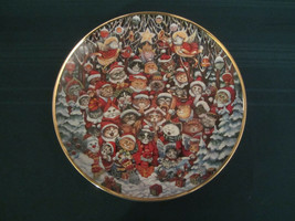 SANTA CLAWS Cat Collector Plate BILL BELL Christmas Cats FRANKLIN MINT - $12.00
