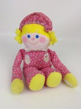 """Vintage 1984 Fisher Price Crib Friend 12"""" Pink & Yellow Baby Rattle Plus... - $14.80"""