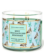 Bath & Body Works Mint Chocolate Chip Milkshake 14.5 Ounces Scented Candle - $23.95