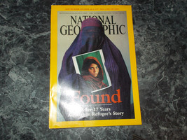 National Geographic Magazine April 2002 Afghan Refugee's - $2.99