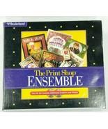 The Print Shop Ensemble Graphics Collection 2 Discs 1997 - $18.52