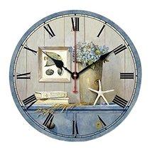 "George Jimmy 10"" Retro Rural Style Wall Clock Silence Decent Decor Hangi... - $36.72"