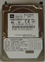 "Toshiba MK2018GAP HDD2164 20GB 2.5"" 9.5mm IDE 44pin Hard Drive Free USA ... - $19.55"