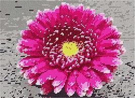 pepita Chrysanthemum Flower Needlepoint Canvas - $39.60