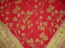 1Y BEAUTIFUL KRAVET LEE JOFA LANTERN FLORAL VINE BROCADE UPHOLSTERY FABRIC image 2