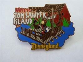 Disney Trading Pins 367 DL - 1998 Attraction Series - Rafts to Tom Sawyer Island - $18.58