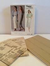 Vogue Sewing Pattern 1858 Vtg Perry Ellis 8 Jacket Dress Too Skirt Very ... - $13.32