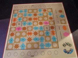 GAME BOARD ONLY MAZE CRAZE 1969 WESTERN PUBLISHING CO MADE IN USA - $6.81
