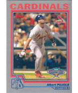 Albert Pujols ~ 2004 Topps Opening Day #25 ~ Cardinals - $0.75