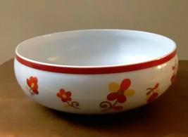 BLOCK Vista Alegre PAPRIKA Hearthstone Serving Bowl 7 1/2 x 3 EUC - $18.05