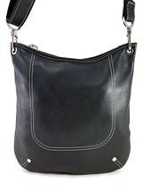 Longchamp Foulonne Black Leather Hobo Shoulder bag - $199.03
